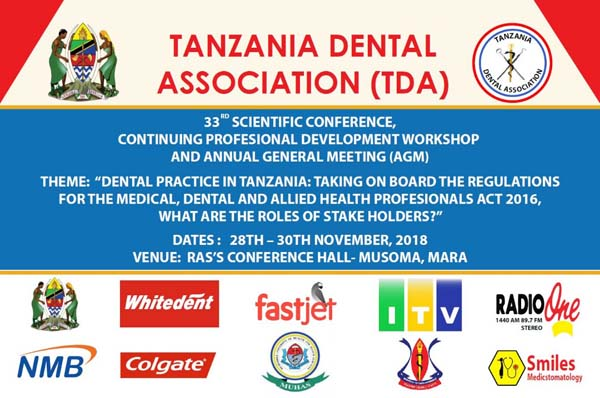 The 33rd TDA Scientific Conference